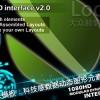 AE模板:科技感数据动态图形元素包【第二季】Modular HUD Interface v2.0
