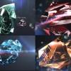 AE模版-晶莹钻石水晶LOGO展示Videohive Diamonds Photo Slider/Opener