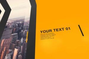 AE模版:现代简约图片文字展示 VideoHive Modern Opener