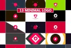 AE模版:13组MG动态图形简洁LOGO展示效果