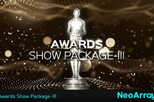 AE模版:第三季小金人奥斯卡颁奖典礼栏目包装 Awards Show Package-III