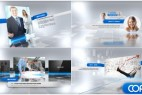 AE模版:大气时尚公司企业展示栏目包装 Complete Corporate Presentation Video