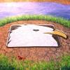 AE模版:湖面LOGO标志展示片头 Lake Logo
