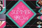 AE模版:夏日清新时装秀图文展示栏目包装 Summer Show Package