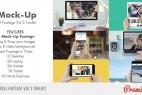 【第三季】AE模版-手机平板真实触摸屏幕动画效果 iMock-Up Real Footage Vol 3 Toolkit