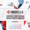 AE模版:公司企业宣传商务办公图文动画展示栏目包装 11879200 Umbrella - Corporate Video Package