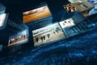AE模版:立体科技空间电视广播新闻栏目包装 News Package 11392588