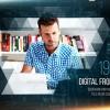AE模板:点线网格科技空间感图文展示 Digital Frontier Slideshow