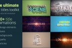 AE模版:终极三维文字标题片头效果助手工具包 Ultimate 3D Titles Toolkit