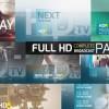 AE模版:电视广播节目预告图文展示栏目包装 HDtv Complete Broadcast Package