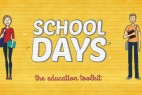 AE模板 学校教育卡通设计元素包 School Days Toolkit
