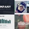 AE模版:简洁公司企业栏目包装图文展示效果