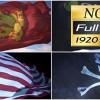AE模板:真实三维旗帜标志飘动特效