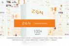 AE模板:公司商务企业图标标题转场图表素材包 Zen Presentation Bundle