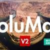 AE模版:4K风景人像图片转3D空间摄像机动画(加景深+调色+炫光+雾气+教程)
