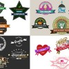 AE模板:40组文字标签LOGO动画效果 Logos & Titles 9719910