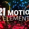 AE模板:221组二维卡通液体线条流动角色文字标题MG动画元素包