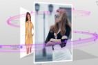 AE模板:时尚粒子线条围绕三维立体盒子图片展示效果 Fashion Box