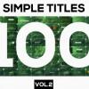 AE模板:100组4K高质量简洁文字标题标签字幕条动画效果包