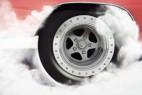 AE模板:炫酷汽车轮胎运转 LOGO 标志展示片头 Car Burnout