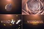 AE模板:Element 3D 三维空间隧道穿梭 LOGO 开场片头