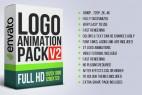 AE模板:27种明亮简洁 LOGO 标志动画展示片头  Logo Animation Pack V2
