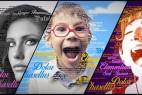 AE模板:三维创意众多文字围绕立体人像排版特效动画
