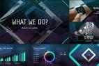 AE模板:现代时尚公司企业商务形象产品数据宣传栏目包装效果