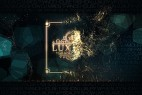 AE模板:大气奢华金色 Particular 粒子汇聚效果预告宣传包装