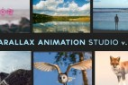 AE模板:图片转三维空间摄像机动画多重曝光视差特效工具包