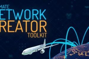 AE模板-E3D军事地球飞机高科技HUD地点连线网络数据传输侦察介绍