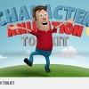 AE模板:三维立体卡通人物角色生活图标元素场景标题动画包 3D Character Animation Toolkit