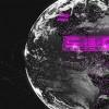 AE模板:三维点线科技感地球展示动画 3d Element Dark Planet