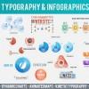 AE模板:公司企业信息数据图表展示动画包 Corporate Typography & Infographics Pack