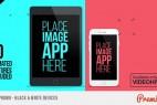 AE模板:MG扁平化手机APP应用介绍展示图形动画 Flat App Promo