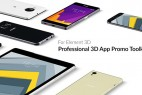 AE模板:Element 3D 三维手机手表平板移动端设备图文介绍宣传