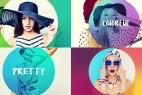AE模板:时尚流行轻快炫彩图文切换展示效果  Colorful Opener