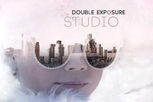 AE模板:高级画面多重曝光叠加图文视觉特效 Double Exposure Studio