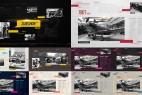 AE模板:公司企业时间线发展历程介绍 Slideshow Clean Timeline