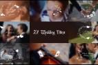 AE模板:唯美婚礼新人名字日期标题动画 Wedding Titles
