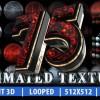AE模板:75种E3D材质纹理贴图 75 Animated Texture (Element 3D)
