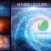 AE模板-宇宙银河星空粒子时间隧道穿梭Logo展示(含音乐) Galaxy Logo Reveal