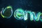 AE模板:霓虹光效描边LOGO标志片头 Inner Power - Logo Reveal