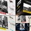 AE模板:三维空间翻转图文展示栏目包装 Slideshow Clean 3D