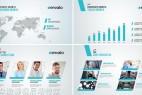 AE模板:现代清新公司企业商务项目简介推广栏目包装