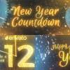 AE模板:2017新年倒计时动画 New Year Countdown 2017