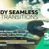 AE模板+脚本:300组实用图片视频扭曲透视旋转平移摄像机AE转场预设  Handy Seamless Transitions | Pack & Script