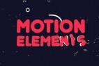 AE模板:二维卡通动漫MG动画小元素 + 渲染好的视频素材 Motion Elements