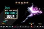 AE模板:多种自定义粒子发散特效工具包 Multifunction Particles Toolkit