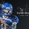 AE模板:流体水花气泡特效动画展示 Water Splash Motion
